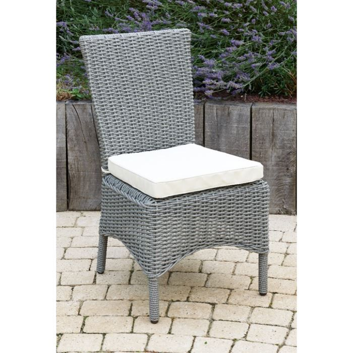 Chaise roma r sine tress e achat vente chaise for Chaise jardin resine tressee