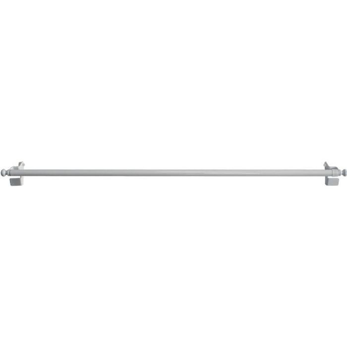 TRINGLE A RIDEAU Tringle Extensible de 9 mm à Fixation Rapide Blanc