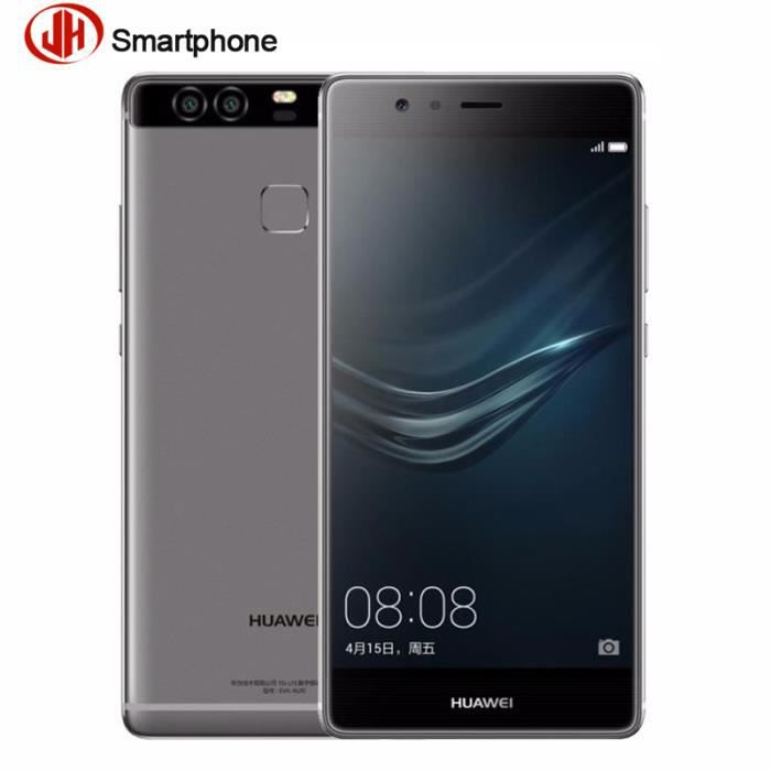 huawei p9 128 go gris smartphone d bloqu achat. Black Bedroom Furniture Sets. Home Design Ideas