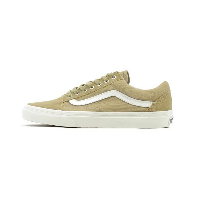 Baskets basses Vans Old Skool Beige Beige - Achat   Vente basket ... 601a5aa8b