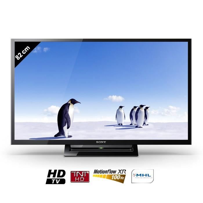 sony kdl32r410bbaep tv led bravia 82 cm t l viseur led avis et prix pas cher cdiscount. Black Bedroom Furniture Sets. Home Design Ideas