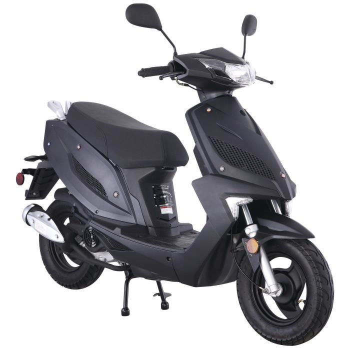 taotao new speedy scooter 50 cc 4 temps noir mat achat vente scooter scooter 50 cc 4 temps. Black Bedroom Furniture Sets. Home Design Ideas