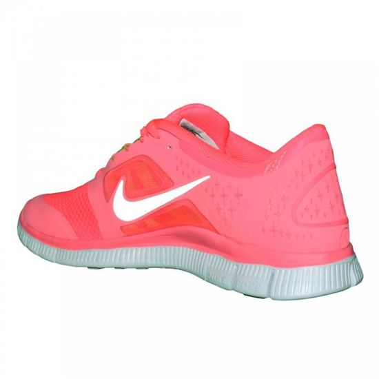 hot sale online c7ec8 e551c Nike - Basket Running - Femme - Free Run - Rose Fluo Rouge - Achat   Vente  basket - Cdiscount