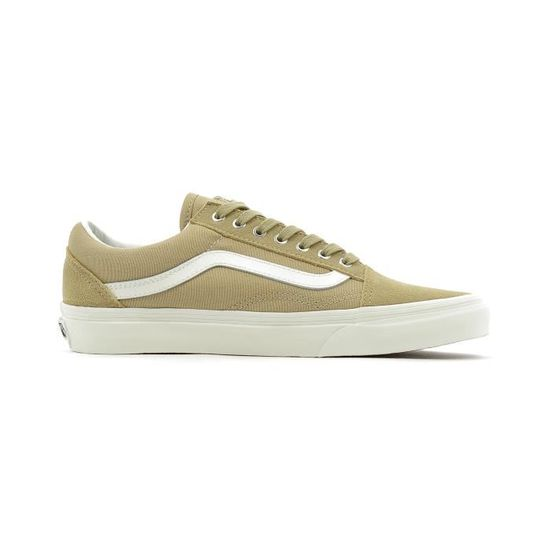 Baskets basses Vans Old Skool Beige Beige - Achat   Vente basket - Cdiscount 955d90c8e