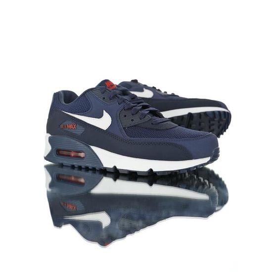 Nike Air Max 90 Essential Chaussures de Course homme Bleu