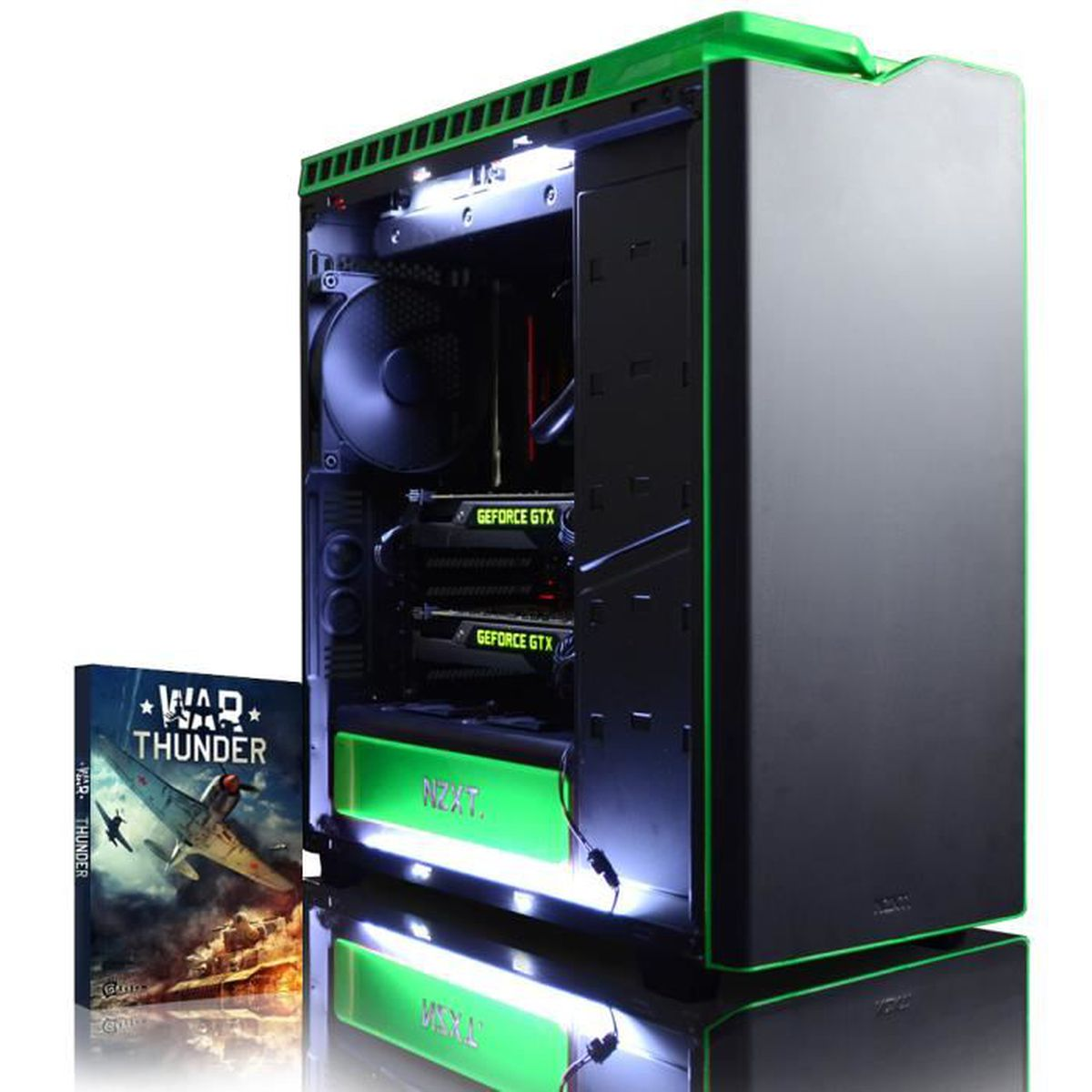 UNITÉ CENTRALE  VIBOX Legend 32 PC Gamer - Intel 8-Core, 2x GTX 10