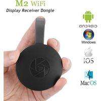 LECTEUR MULTIMÉDIA Mini Wi-Fi Display TV Dongle Receiver 1080P Airmir