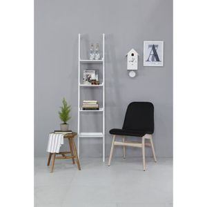 etagere murale blanc laquee achat vente etagere murale. Black Bedroom Furniture Sets. Home Design Ideas