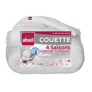 COUETTE ABEIL Couette 4 Saisons ANTI-ACARIENS 240x260cm