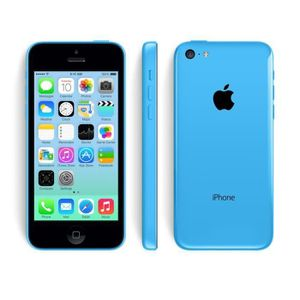 SMARTPHONE RECOND. iPhone 5C 32 GB GO bleu Reconditionné a neuf garan