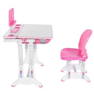 CHAISE DE BUREAU FIHERO Set Bureau pour enfant table & chaise Haute