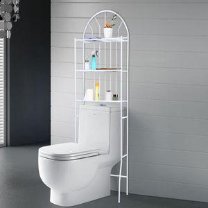 COLONNE - ARMOIRE SDB Meuble Étagère de WC support de rangement de toile