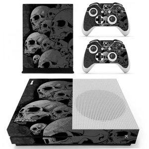 CONSOLE XBOX ONE Sticker-Decal Autocollant Xbox  -  ONE S Skull fac