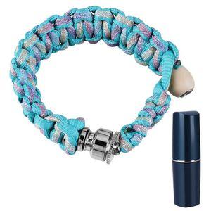 PIPE Portable Fluorescence Bracelet Fumeur Tuyaule taba