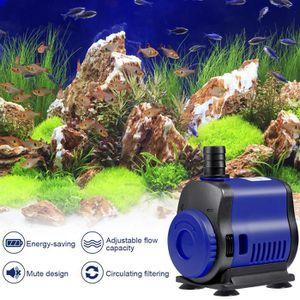 POMPE À EAU Mini pompe à eau submersible 14W pour aquarium---R