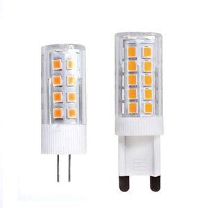 AMPOULE - LED Xinlie Ampoule Led G9 Blanc Chaud 5W Led G4 Equiva
