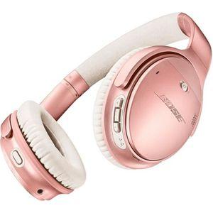 CASQUE - ÉCOUTEURS Bose QuietComfort 35 II ROSE GOLD avec micro plein