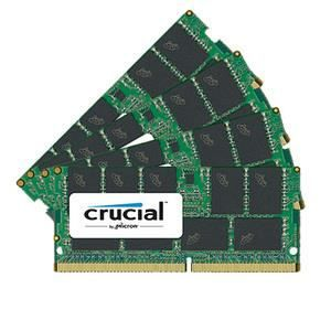 MÉMOIRE RAM Memoire PC Crucial SO-DIMM DDR4 ECC 64 Go (4 x 16