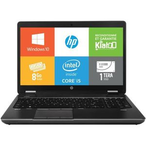 ORDINATEUR PORTABLE Pc portable HPZBOOK15 intel core i5 8go ram 1to SS