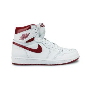 BASKET MULTISPORT Basket Air Jordan 1 Retro High Og Ftw Blanc 555088