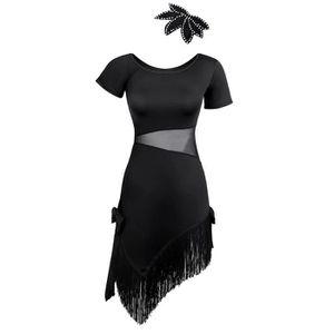 TUTU - JUSTAUCORPS Femme Robe de Ballet Justaucorps de Danse Classiqu