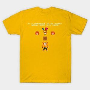 T-SHIRT Crash Bandicoot - Zelda Crossover T-Shirt fashion