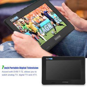 Téléviseur LED LEADSTAR Téléviseur portable 7pouces DVB-T-T2 numé