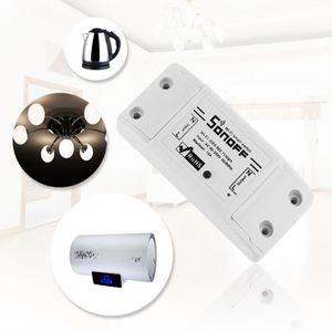 COURANT PORTEUR - CPL Sonoff Interrupteur intelligent Wifi Prise intelli