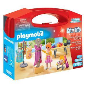 UNIVERS MINIATURE Playmobil 5652 - Jeu - Valisette Styliste ZIZTM