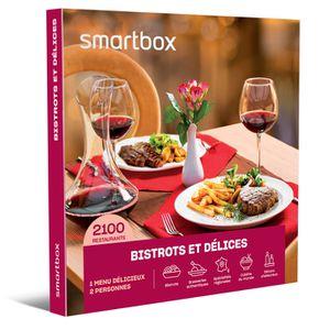 COFFRET GASTROMONIE Coffret Cadeau - Bistrots et délices - Smartbox