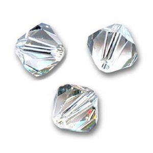 ** 100 perles toupies 4 mm  SWAROVSKI  LIGHT AZORE SATIN PROMOTION   **