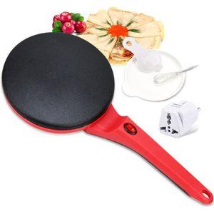 CRÊPIÈRE ÉLECTRIQUE 3PCS / Set Électrique Crêpière Pizza Pancake Machi