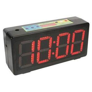 Horloge programmable 7 jours avec minuterie num/érique LCD programmable multicolore
