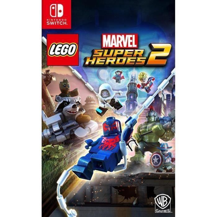 JEU NINTENDO SWITCH Lego Marvel Super Heroes 2 Jeu Switch