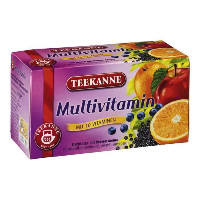TEEKANNE Gastro Premium Multivitamin Sacs à thé pack de 20