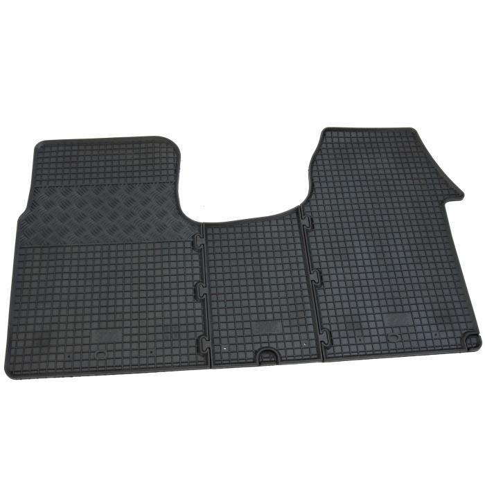 Tapis de sol en caoutchouc Opel vivaro Renault tapis de caoutchouc des tapis de caoutchouc de trafic tapis fixés