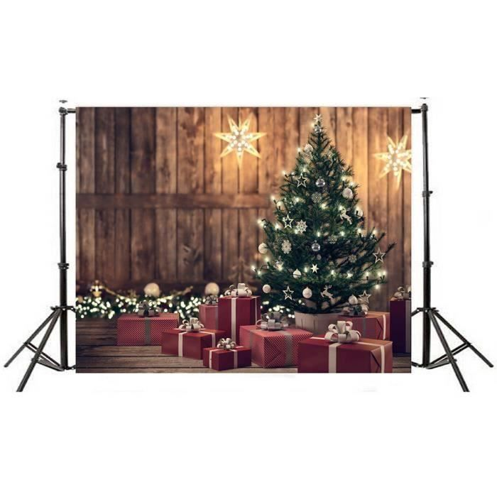 HT Mur vinyle panneaux muraux Noël 5x3FT Digital Toile de fond Photographie Studio I ds454 - HTTNS903A21568