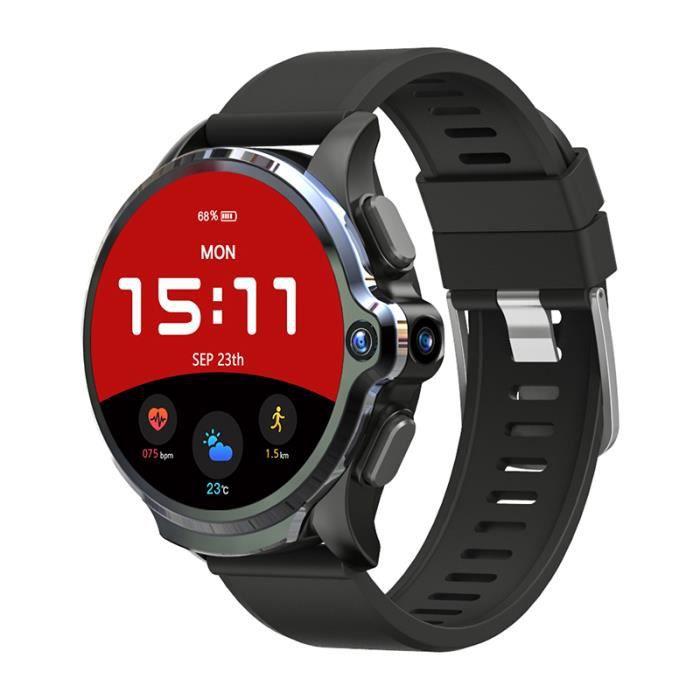 Nouveau KOSPET Prime 3GB 32GB Montre Intelligente Hommes 1260mAh Double Caméra Fréquence Cardiaque Face ID 1.6 -Bluetooth 4G Android