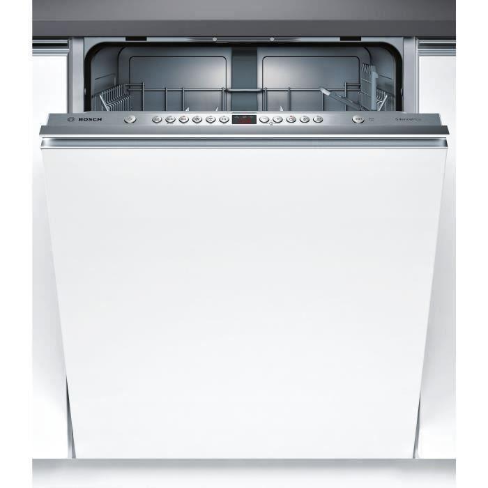 BOSCH SMV46AX01E Lave-vaisselle tout intégrable 12 couverts 46db A+