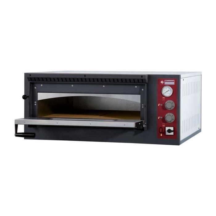 Four à pizzas électrique - 6 pizzas (Ø 33 cm)