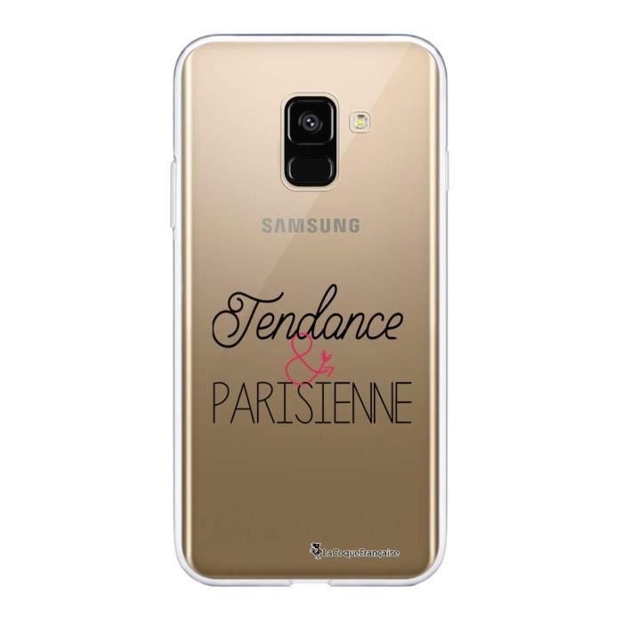 Coque Samsung Galaxy A8 2018 360 intégrale Tendance et Parisienne Ecriture Tendance Design La Coque Francaise