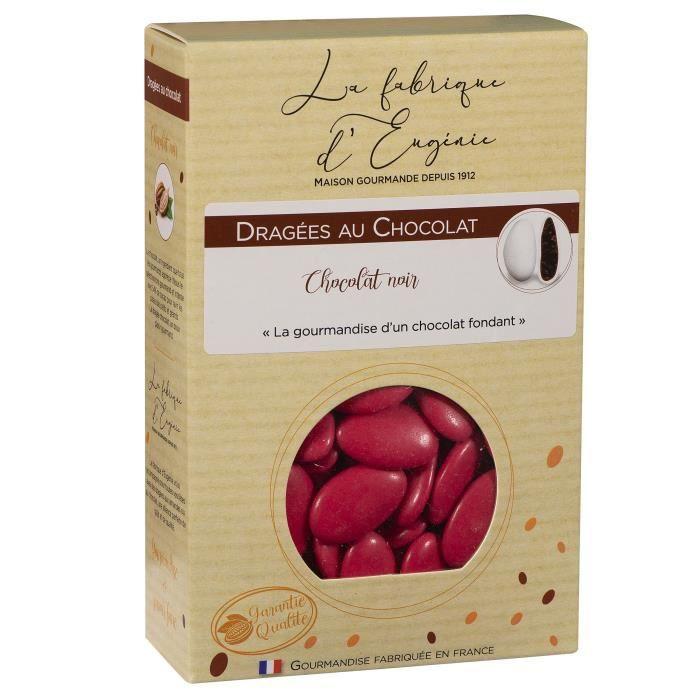 LA FABRIQUE D'EUGENIE Dragées au Chocolat - Framboise - 500 g