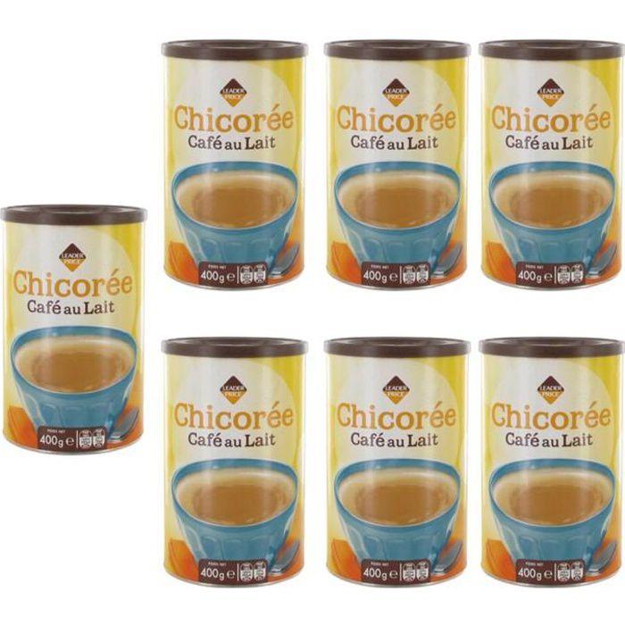 [Lot de 7] Chicorée café au lait - 400g par boite