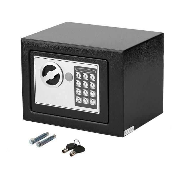 4.6L Numérique Grand coffre fort électronique 27x21x21cm