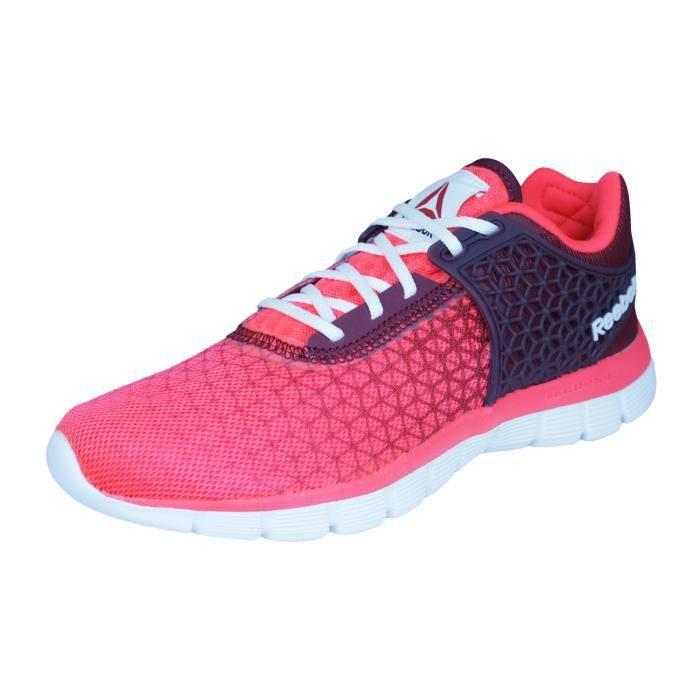 Reebok Z Dual Rush 2.0 Chaussures de course pour femme Rouge 6