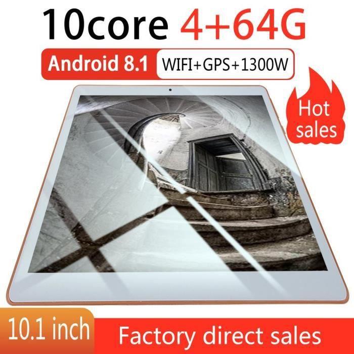 10.1 inch for Android 8.1 plastic Tablet PC WIFI 1G + 16G Tablette Ordinateur intelligent Réglementation européenne