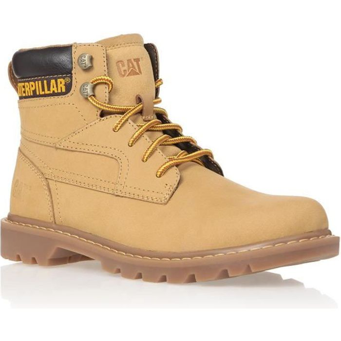 CATERPILLAR Bottines Cuir Bridgeport Homme - Marron