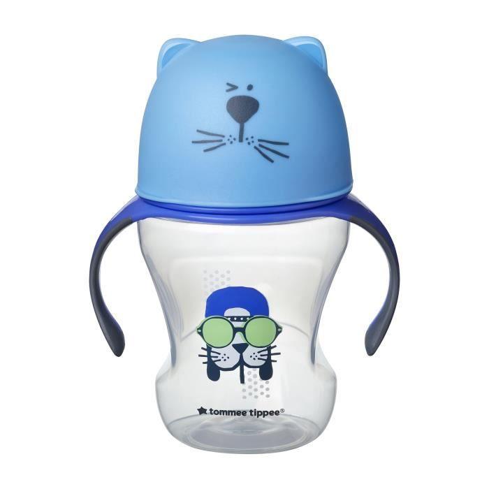 TOMMEE TIPPEE Tasse de transition 300 ml déco bleu
