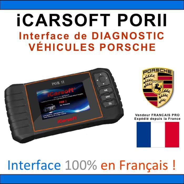 valise diagnostic porsche icarsoft i960 durametric. Black Bedroom Furniture Sets. Home Design Ideas
