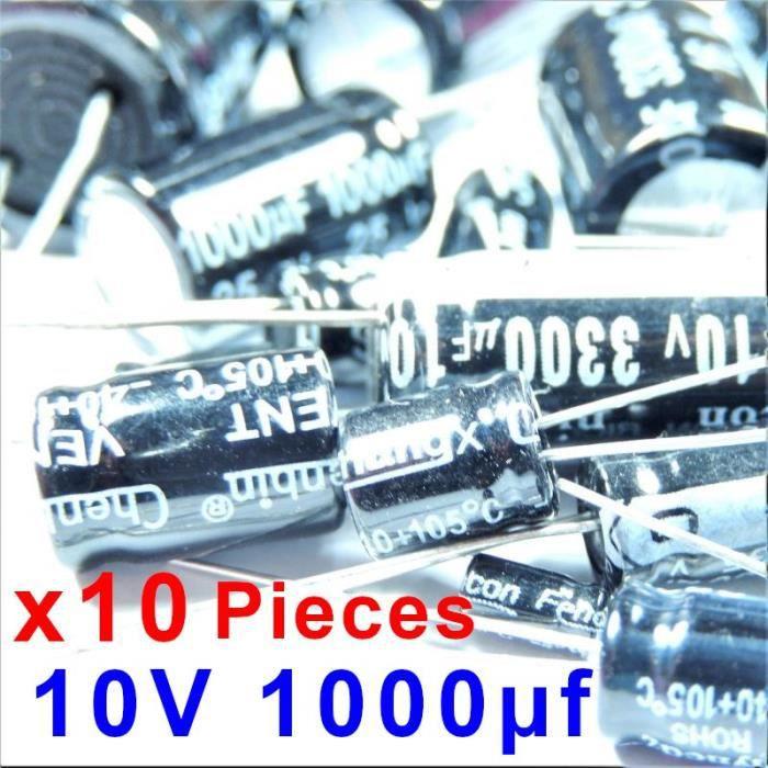Condensateurs chimiques//electrolytiques 2,2uf  100V   lot de 1 a 20 pieces